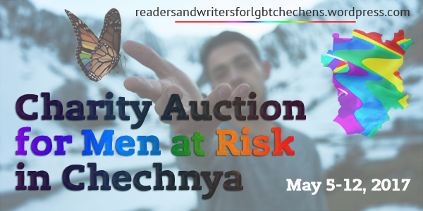 Charity auction for men at risk in Chechnya May 5-12