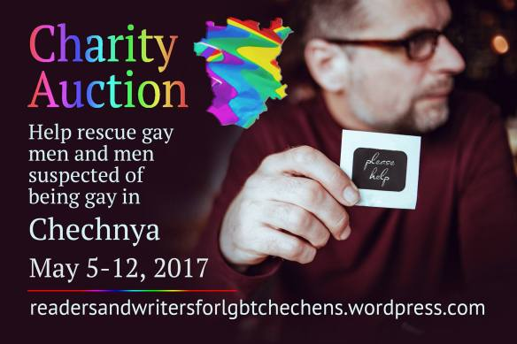 Chechnya LGBT charity auction May 5-12